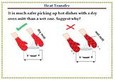 PowePoint flash cards - Heat Transfer –Conduction, Convection & Radiation