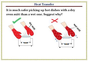 PowePoint flash cards - Heat Transfer –Conduction, Convect