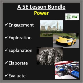 Power - 5E Lesson Bundle