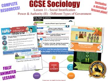 Power & Authority (II) - Social Stratification (GCSE Sociology - L11/20)