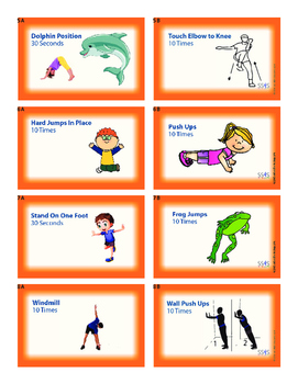 Power Cards- Exercise