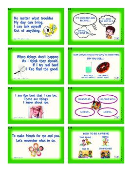 Power Cards;Social Skills