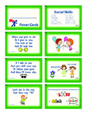 Power Cards;Social Skills