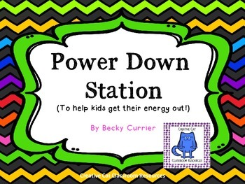 Power Down Station for Busy Bodies