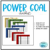 Power Goal Checklist
