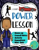Energy, Work, and Simple Machines Unit- Power Lesson