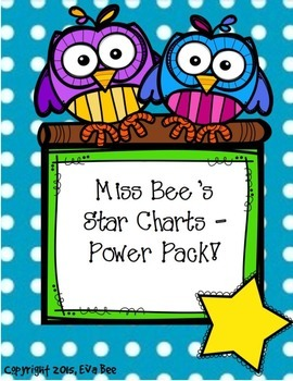 Power Pack Star Charts