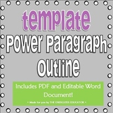 Power Paragraph Template