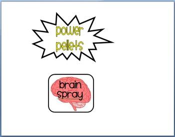 Power Pellets and Brain Spray- Classroom Management