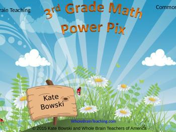 Power Pix for Math - 3rd Grade