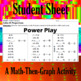 Power Play - A Math-Then-Graph Activity - Solving Proportions
