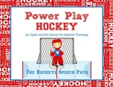 Power Play!  Hockey:  An Open-Ended Game for Speech Therapy