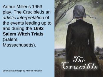 Power Point Arthur Miller's The Crucible