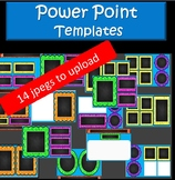 Power Point Blank Templates for All Subject Areas