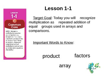 Power Point Bundle!  enVision Math Grade Four/ Topic 1, Topic 2, Topic 3