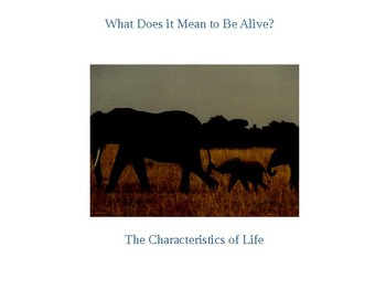 Power Point: Characteristics of Living Things