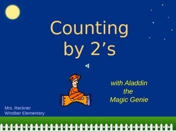"Skip Counting with ""Aladdin the Magic Genie"""