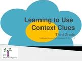 Power Point EDI Lesson for Teaching Context Clues