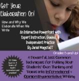 Elaboration Power Point: Informational & Opinion Argumenta