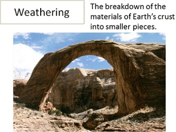 Power Point: Erosion and weathering (Bible based)