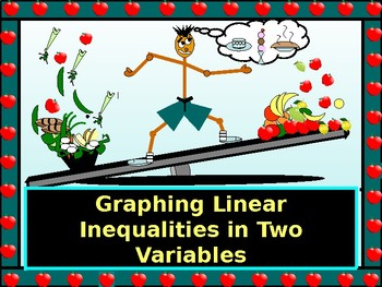 Power Point:  Graphing Inequalities in Two Variables with GUIDED NOTES