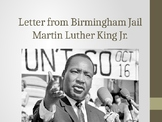 "Power Point Intro to ""Letter from Birmingham Jail"""