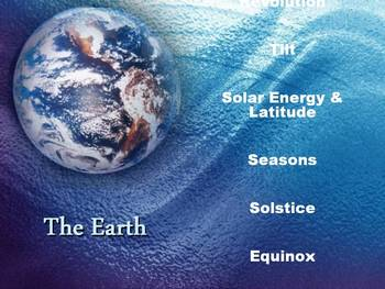 The Earth-Power Point Lesson