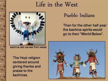 Power Point-Life in the West-a Study of Native American Tribes