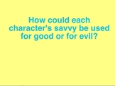 """Power Point: Literary Unit for """"Savvy"""" by Ingrid Law, Chapters 11-15"""