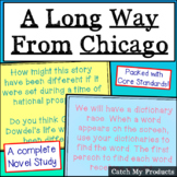 A Long Way From Chicago Novel Study in Power Point