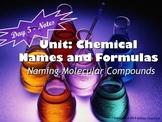 Naming and Formula Writing for Ionic and Molecular Compounds: Set of 5 PPTs!