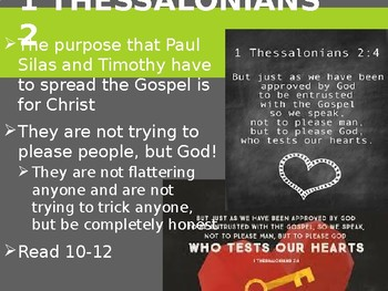 Power Point Notes 1+2 Thessalonians