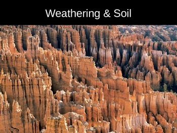 Power-Point Notes on Weathering and Soil