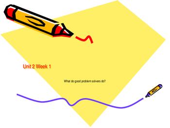 Power Point Presentation Unit 2 Week 1 Mc Graw Hill ELA Wonders Book