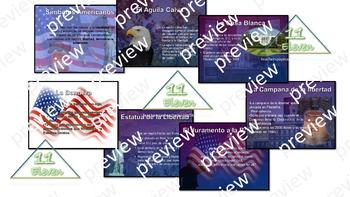 American Symbols PPT Presentation (Spanish)