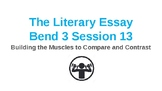 Power Point Presentation for Lucy Calkins' Literary Essay Bend 3