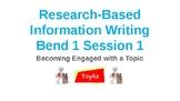 Calkins Research Information Essay Bend 1 Power Point Grade 6