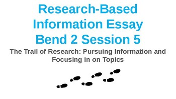 Power Point Presentation for Lucy Calkins Research Information Essay Bend 2
