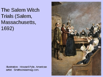 Power Point Presentation on Salem Witch Trials