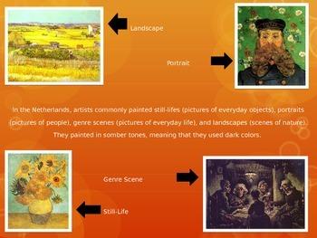 Power Point Presentation on Vincent Van Gogh