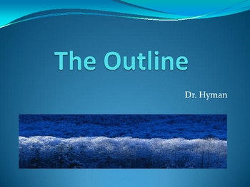 Power Point Presentation on the Outline