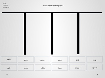 Power Point Slides for Beginning Sounds and and Short Vowel Sorts