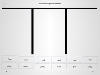 Power Point Slides for Common Long Vowels