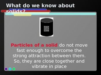 Power Point: States of Matter