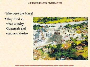 Teotihuacán, and the Aztec, Maya, and Inca Power Point Lesson