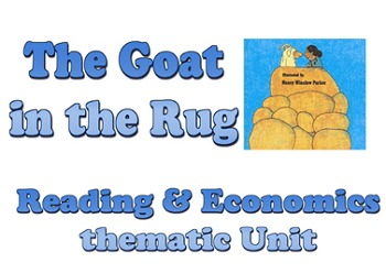 Power Point: The Goat in the Rug thematic unit