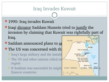 Power Point: The Persian Gulf War