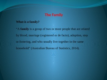 Power Point - Types of Families