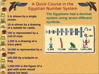 ancient history egyptian number system power point worksheet collection. Black Bedroom Furniture Sets. Home Design Ideas