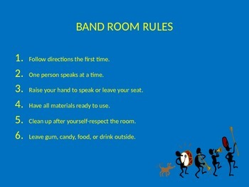 Power Point for Band